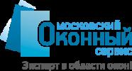 Логотип Московского оконного сервиса