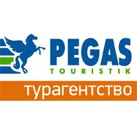 Логотип компании Пега Туристик